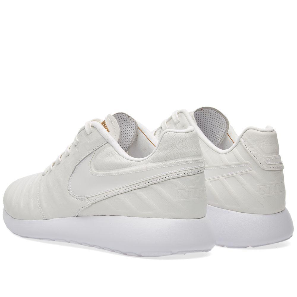 5dcc5eb2d612c Nike Roshe Tiempo VI QS White   Metallic Gold