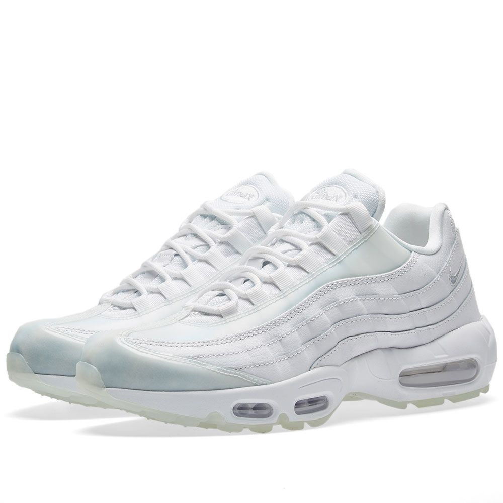 sports shoes 9c90f a22b3 Nike Air Max 95 SE W White, Pure Platinum  Ice  END.