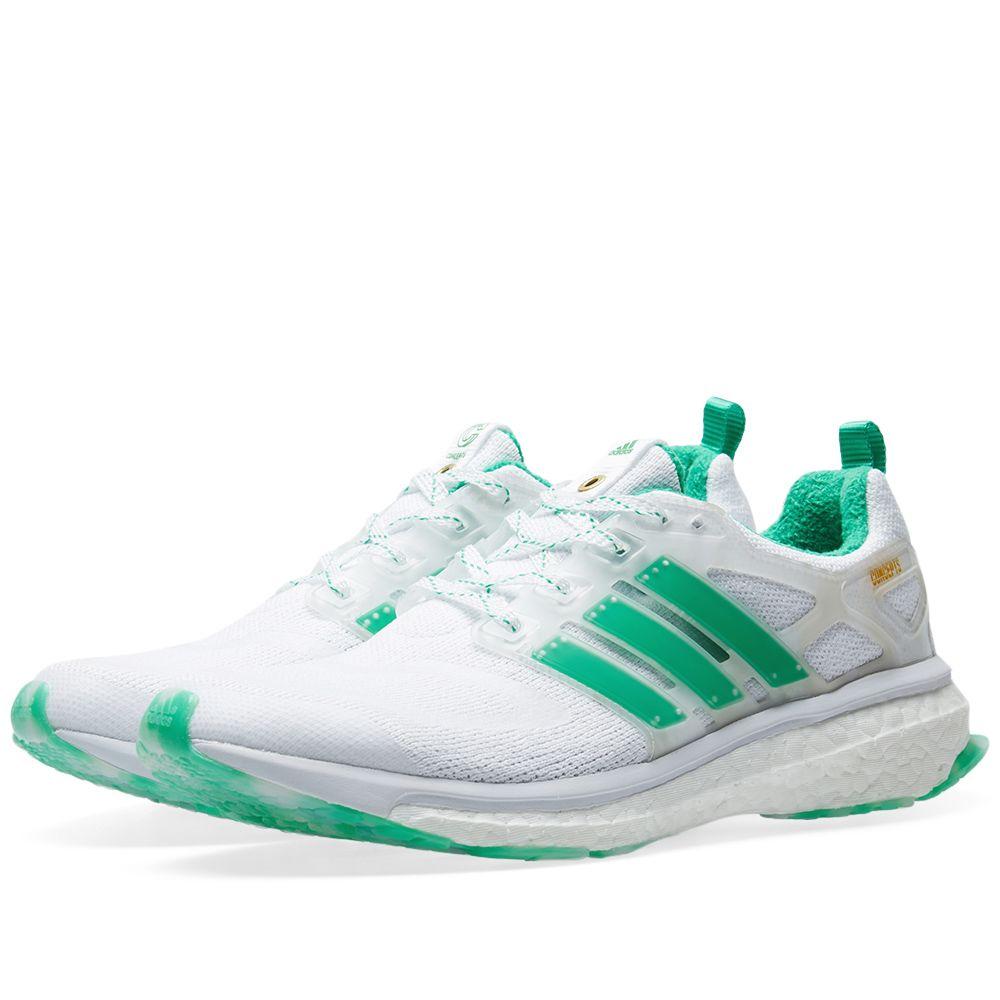wholesale dealer 5edf4 0ef4e Adidas Consortium x Concepts Energy Boost White  Green  END.