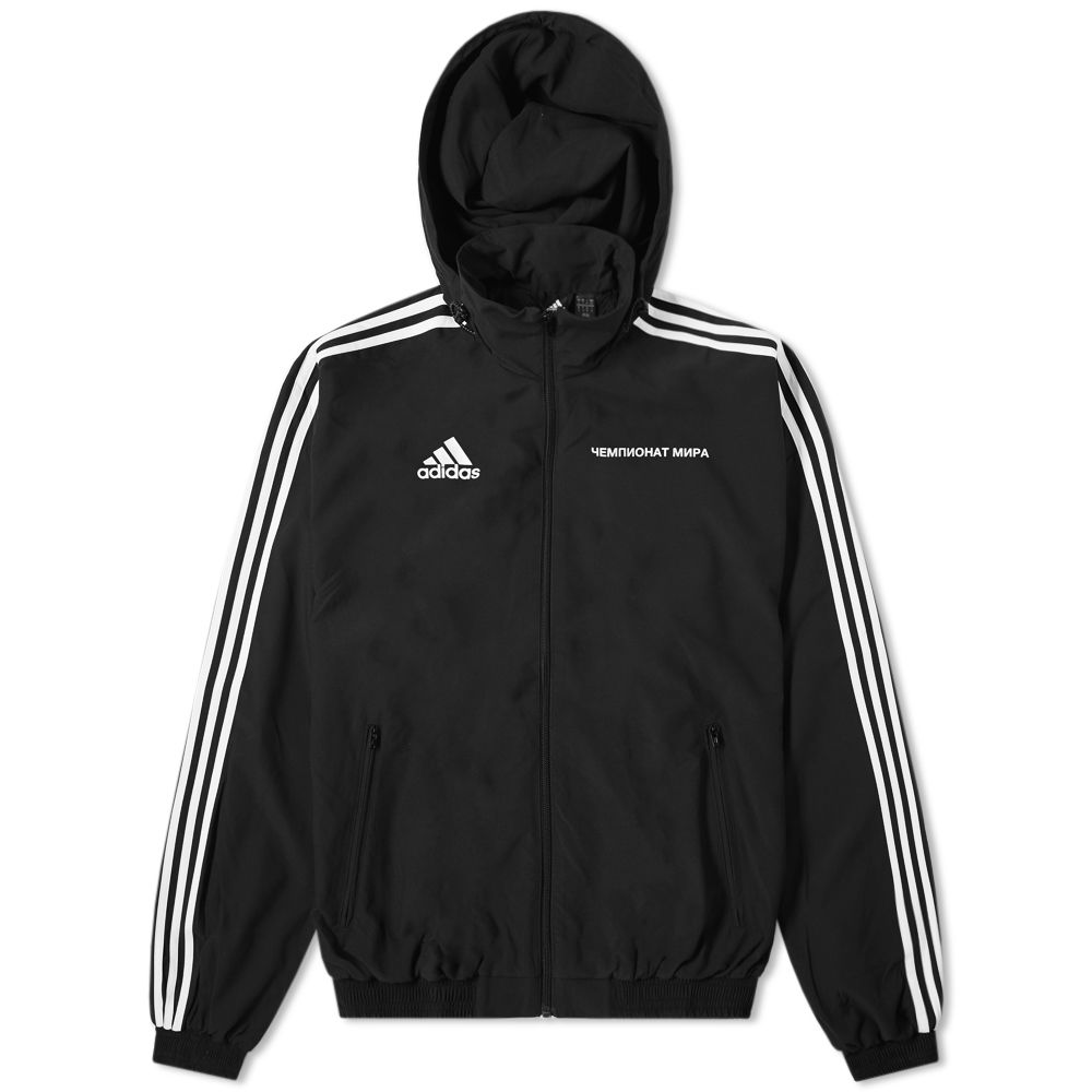 new styles 0d9b0 d4c9c Gosha Rubchinskiy x Adidas Woven Hooded Jacket Black  END.