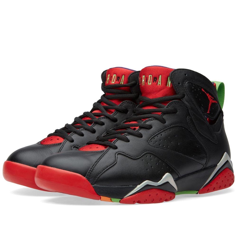 2c2d34ead26b22 Nike Air Jordan VII Retro  Marvin The Martian  Black   University ...