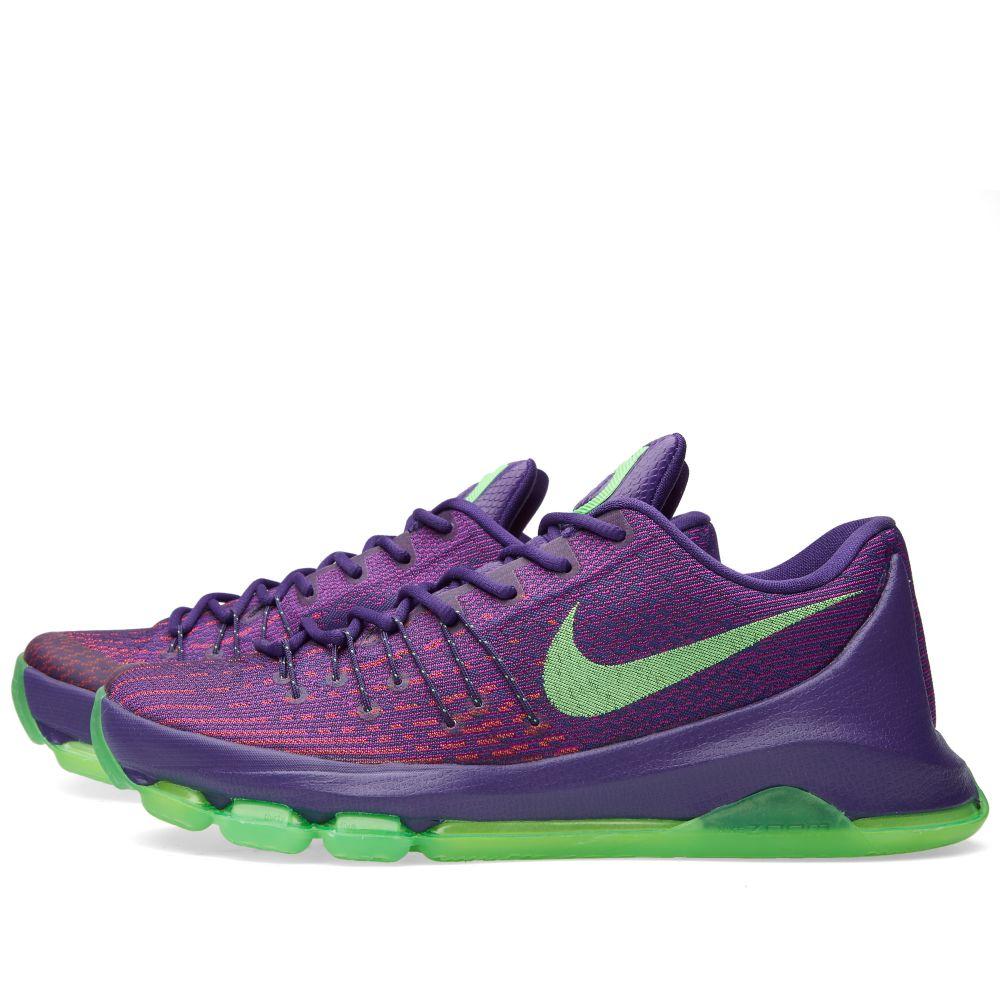 7ae4eb4fe407 Nike KD 8  Suit  Court Purple   Green Strike