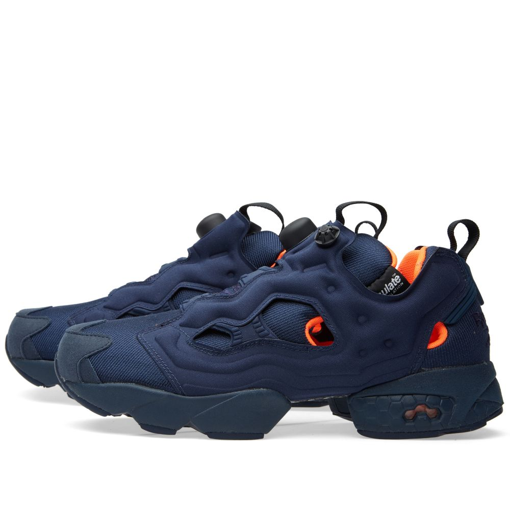 Reebok Instapump Fury Tech Flight Collegiate Navy   Solar Orange  d8ca47922