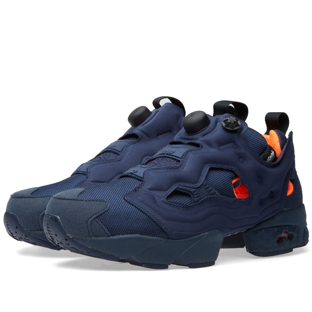0fb61ee42415 Reebok Instapump Fury Tech Flight Collegiate Navy   Solar Orange
