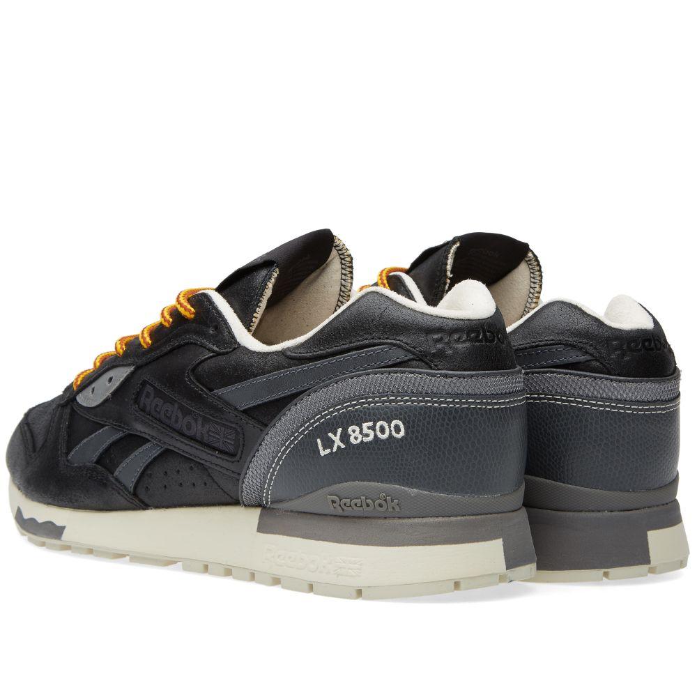 220d9f132325 Reebok LX 8500 Premium. Black   Solid Grey. AU 159 AU 85. image