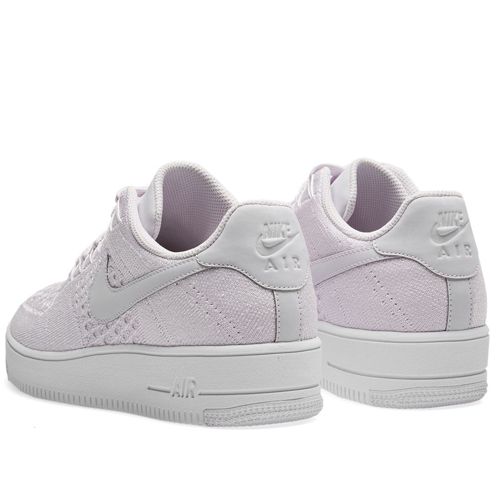 info for fbd12 c8f6a Nike Air Force 1 Flyknit Low Light Violet  White  END.