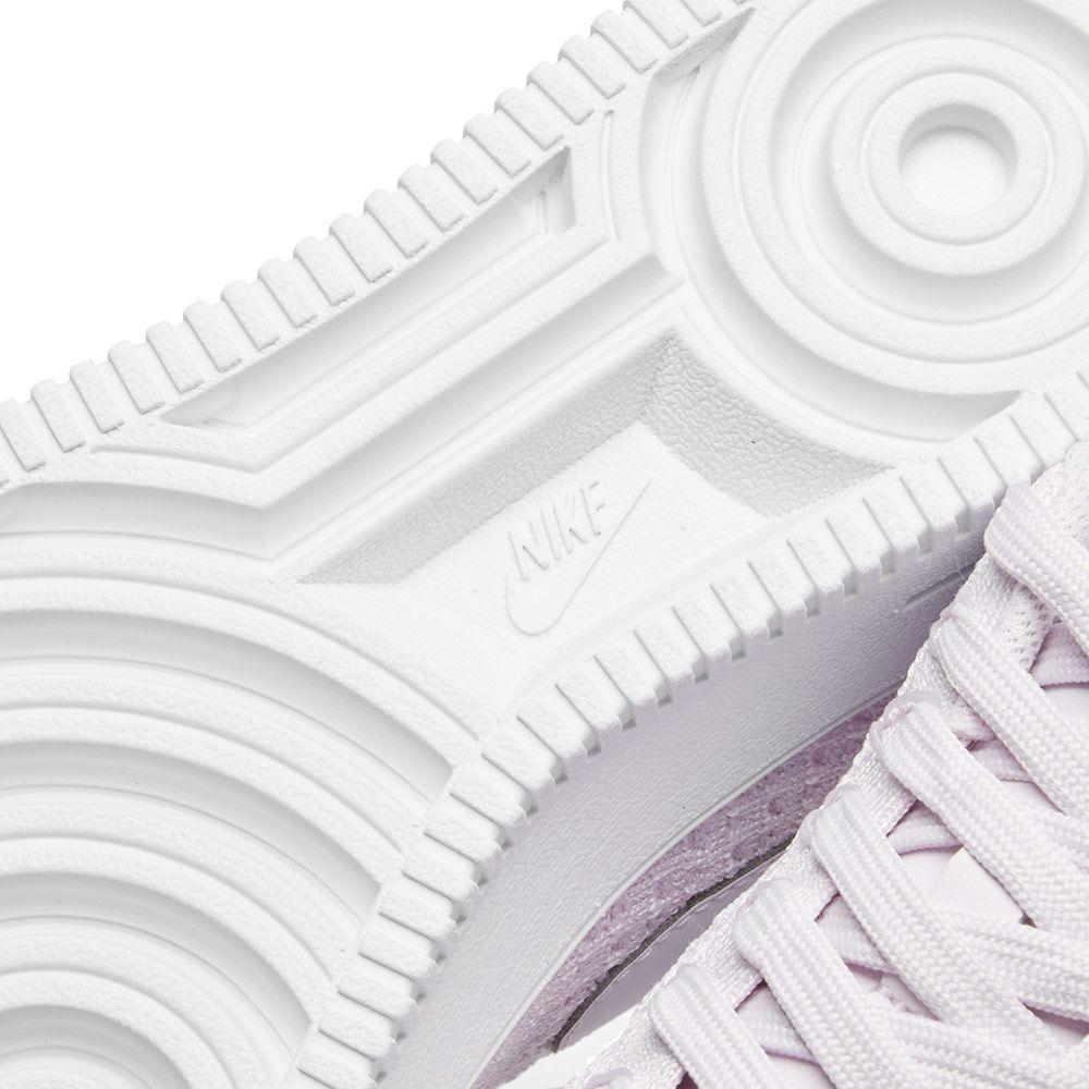 04de5d6e090 Nike Air Force 1 Flyknit Low Light Violet   White