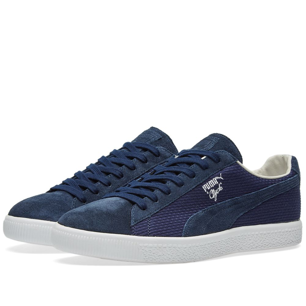 Puma Clyde - Made in Japan Peacoat Suede  b0a0beae8