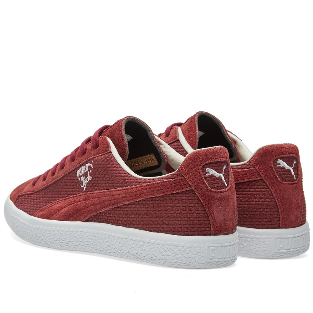 Puma Clyde - Made in Japan Winetasting Suede  09cf4ef2f