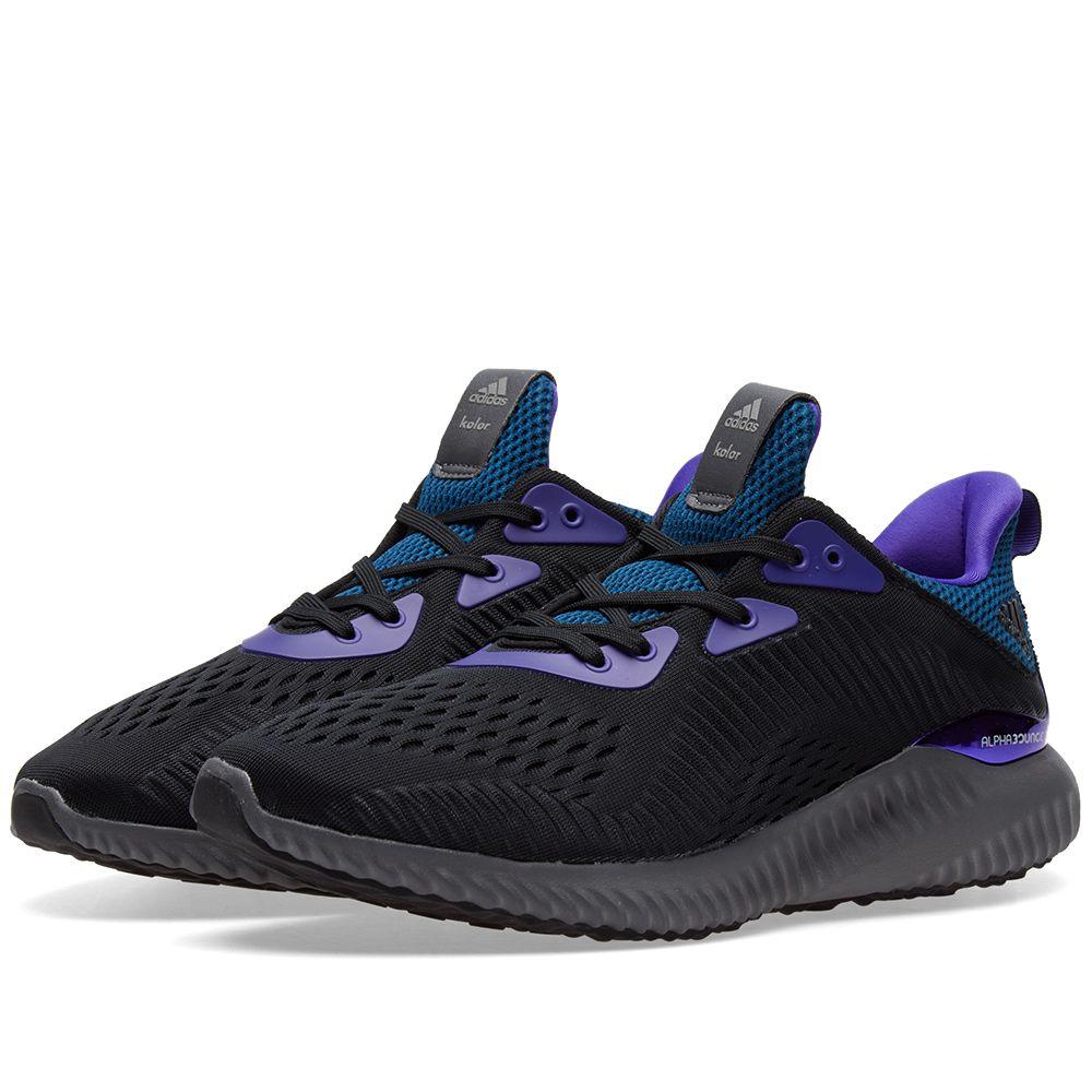 2b4658fcc8c61 Adidas Consortium x Kolor Alphabounce Black