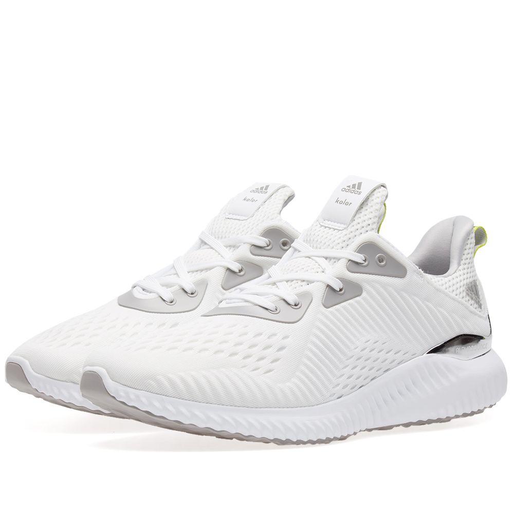 18c66202733 Adidas Consortium x Kolor Alphabounce White   Grey