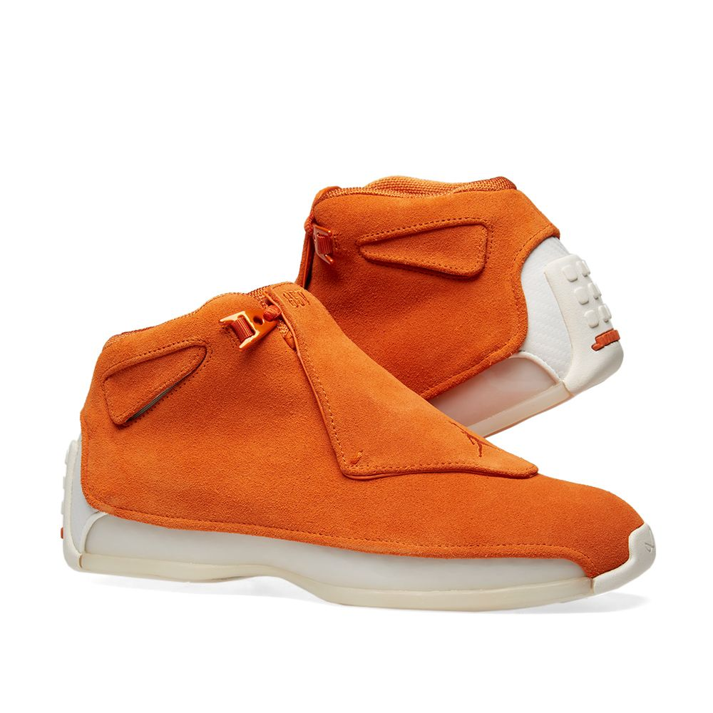 2f0b08f6f8b8 Air Jordan 18 Retro Campfire Orange