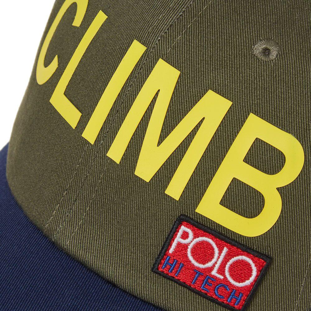 Polo Ralph Lauren Hi-Tech Trek Cap Expedition Olive   Navy  3bd7f1d21599