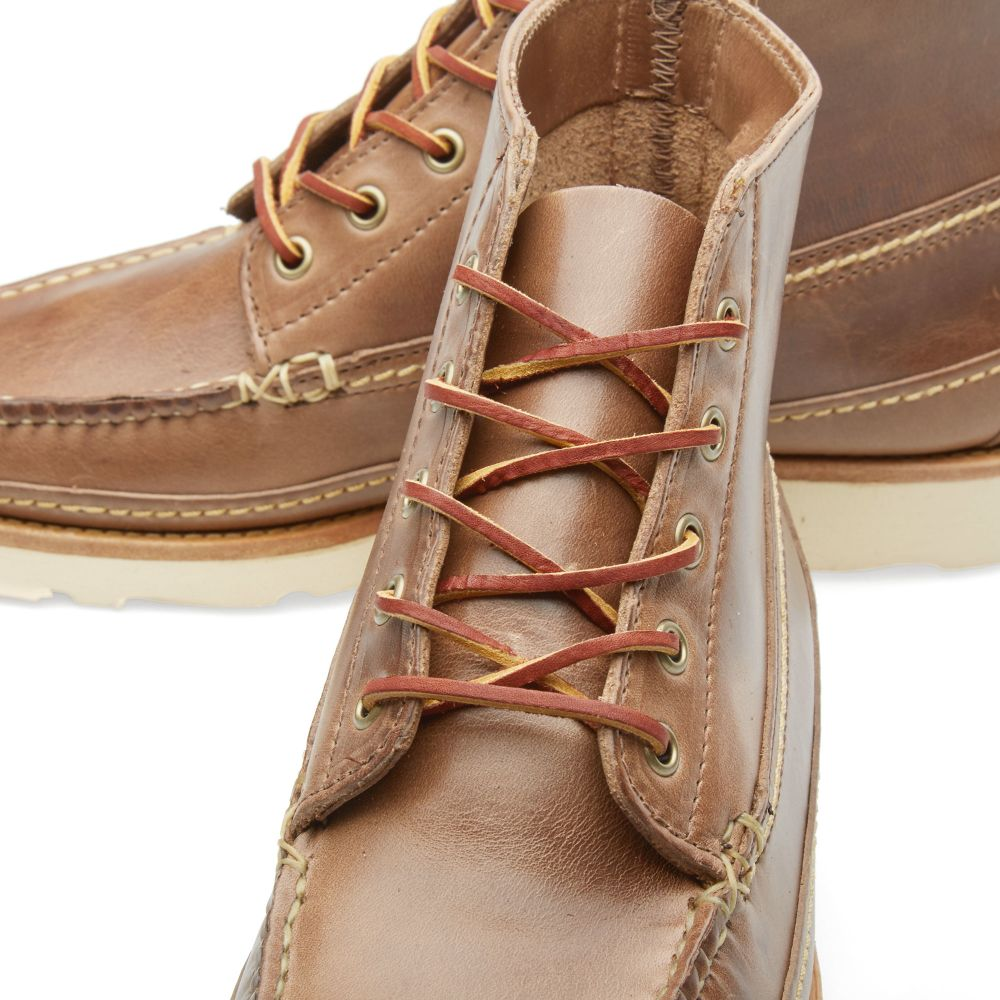 d11e1e24ab45 Oak Street Bootmakers Vibram Sole Camp Boot Natural Chromexcel