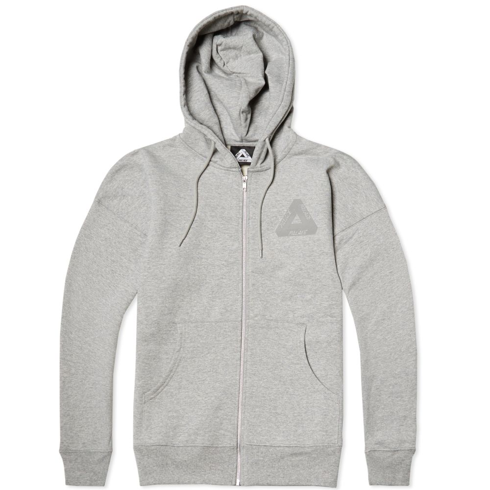 5486a5f0c480 Palace Performance Zip Hoody Grey