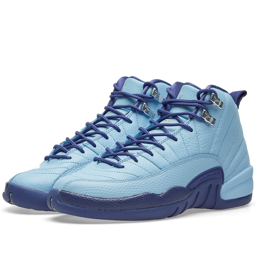 Nike Air Jordan 12 Retro GG Bluecap   Metallic Silver  3d037cb0e