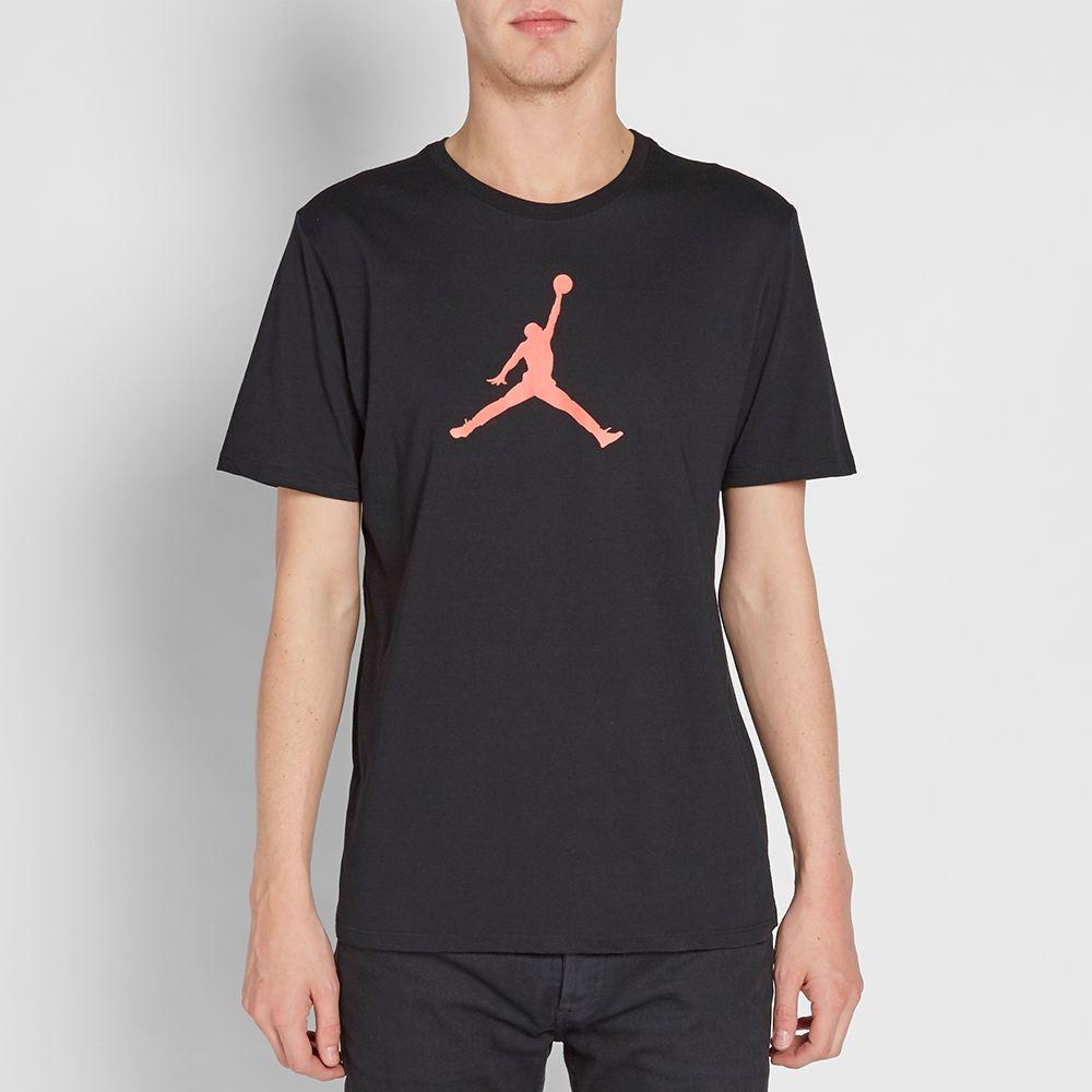 65e58c231ceadd Nike Jordan Jumpman Tee Black   Infrared 23