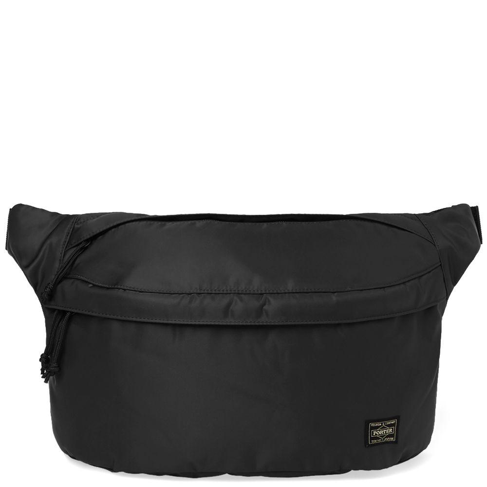 4b1cd21aa1c4 Neighborhood x Porter Nylon Waist Bag Black
