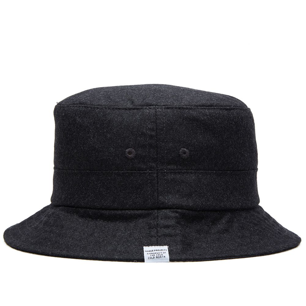 b5c6b0e3e371d Norse Projects Bo Storm Bucket Hat Charcoal Melange