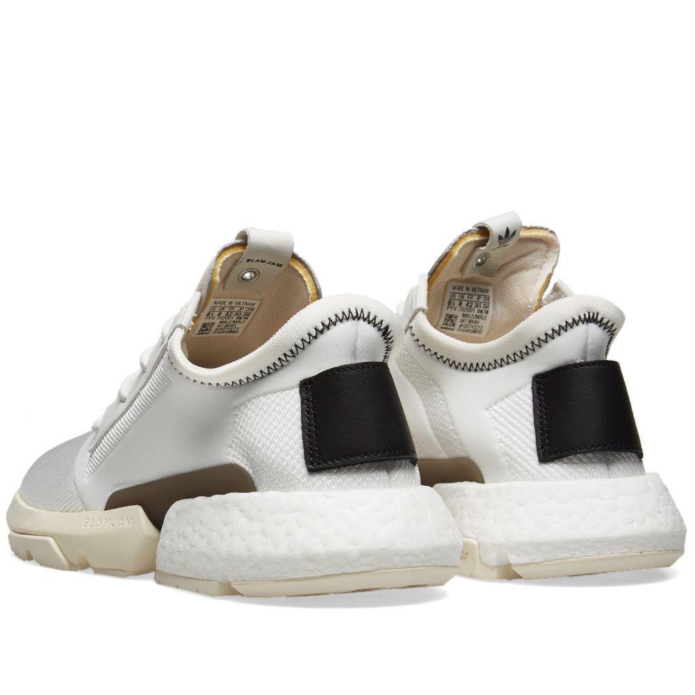 first rate 7223d 2d362 Adidas Consortium x Slam Jam P.O.D S3.1. White