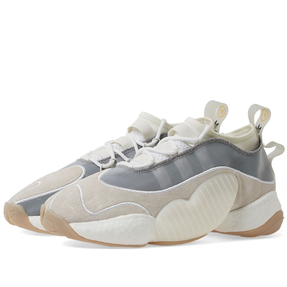 info for 7daed c3bb2 Adidas x Bristol Studio Crazy BYW LVL II White  Navy  END.