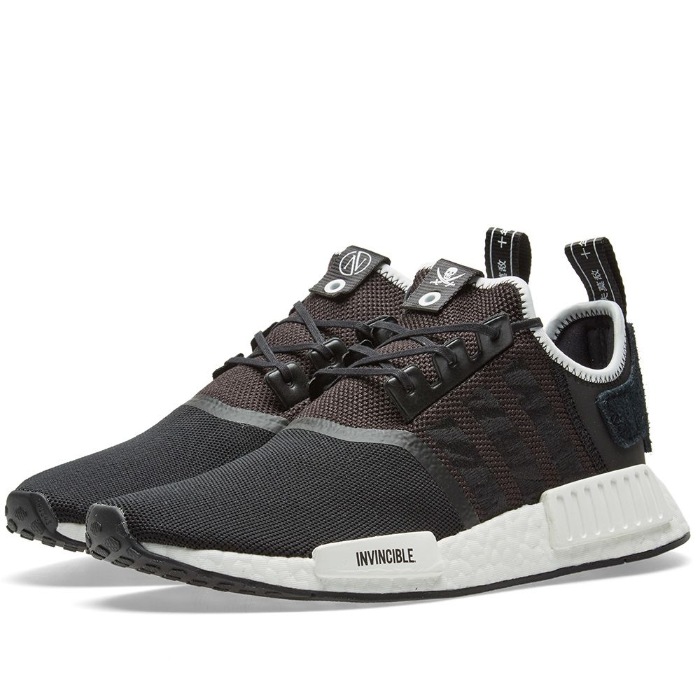 c0597d007 Adidas Consortium x Invincible x Neighborhood NMD R1. Black. CN¥1
