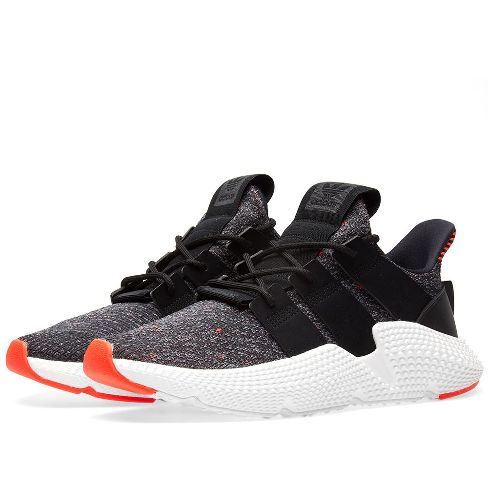 purchase cheap f31bb 24d87 Adidas Prophere Core Black  Solar Red  END.