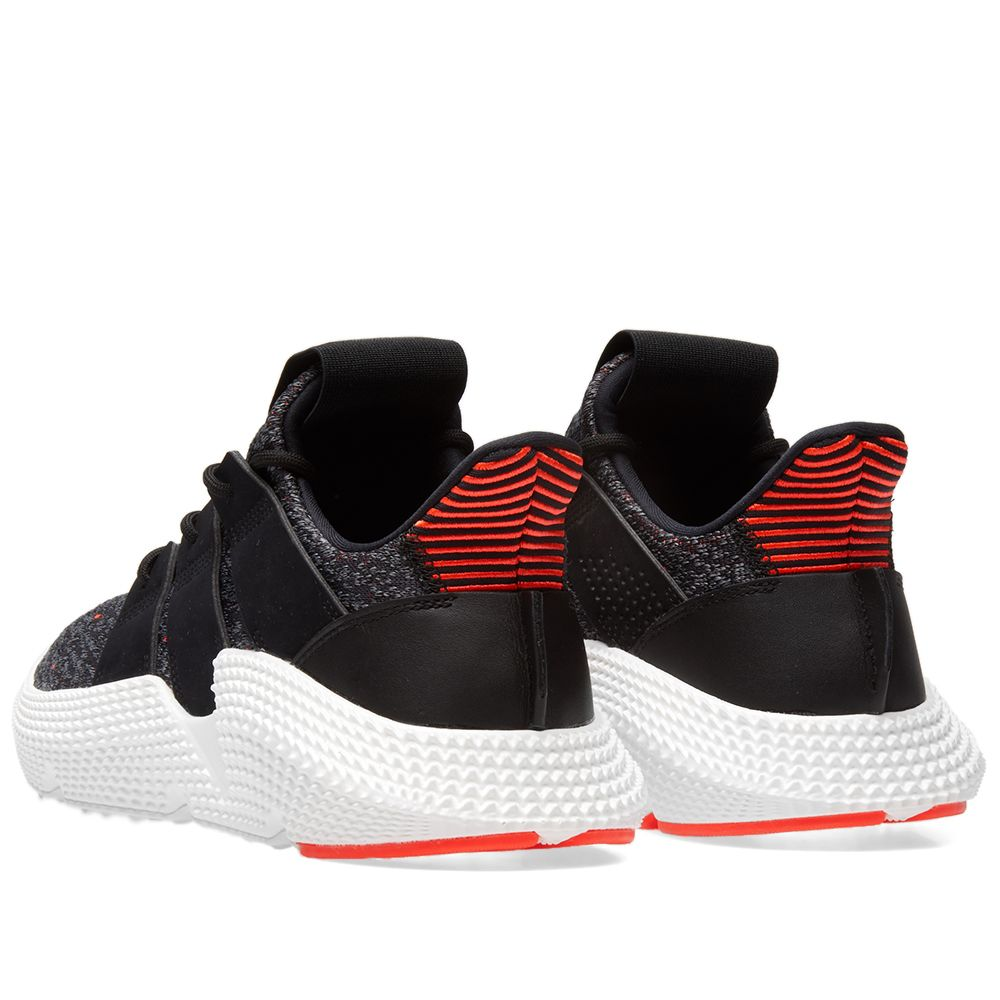 1626e6a63ee7 Adidas Prophere Core Black   Solar Red
