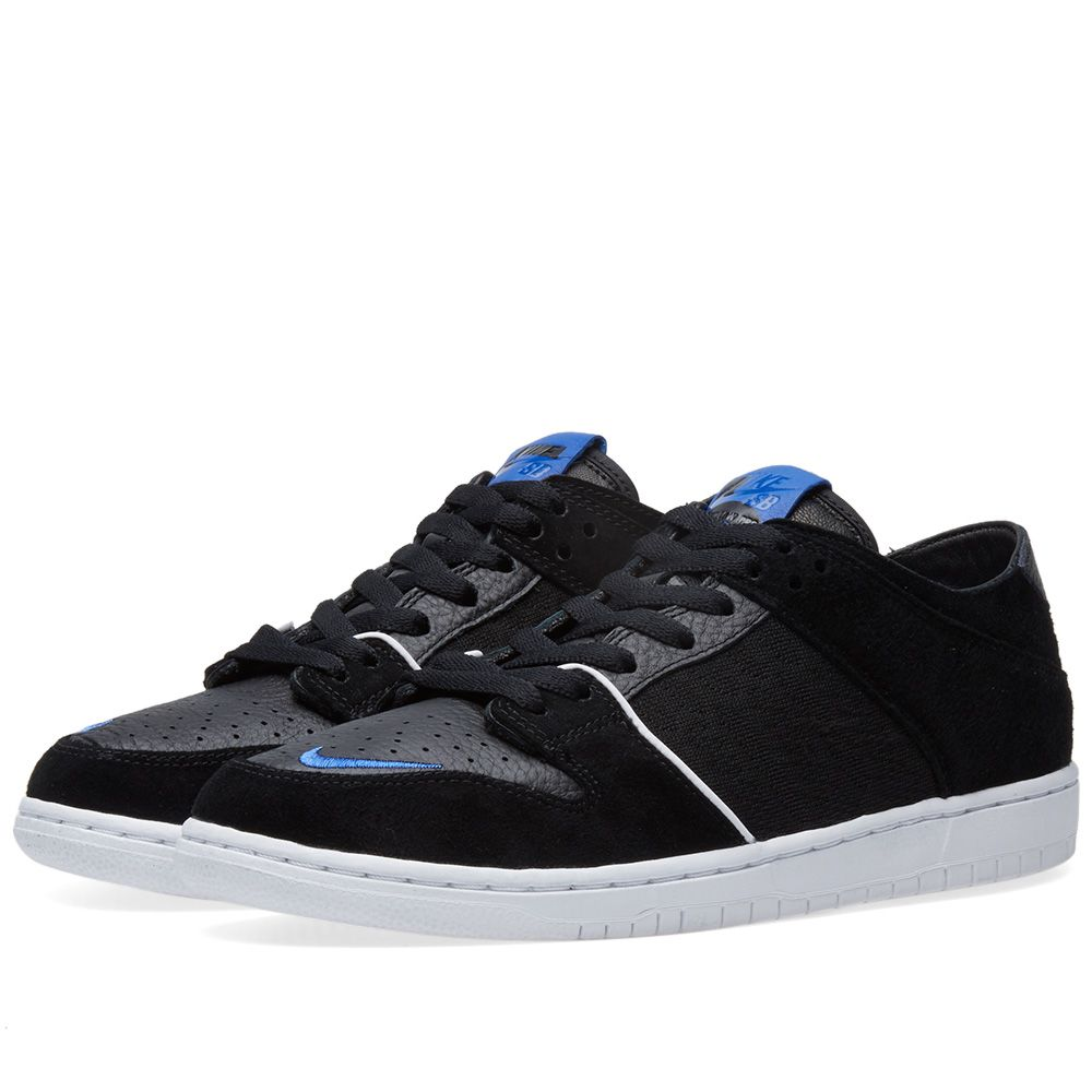 the latest d420c c4c9a Nike x Soulland SB Zoom Dunk Low Pro QS Black, White  Blue