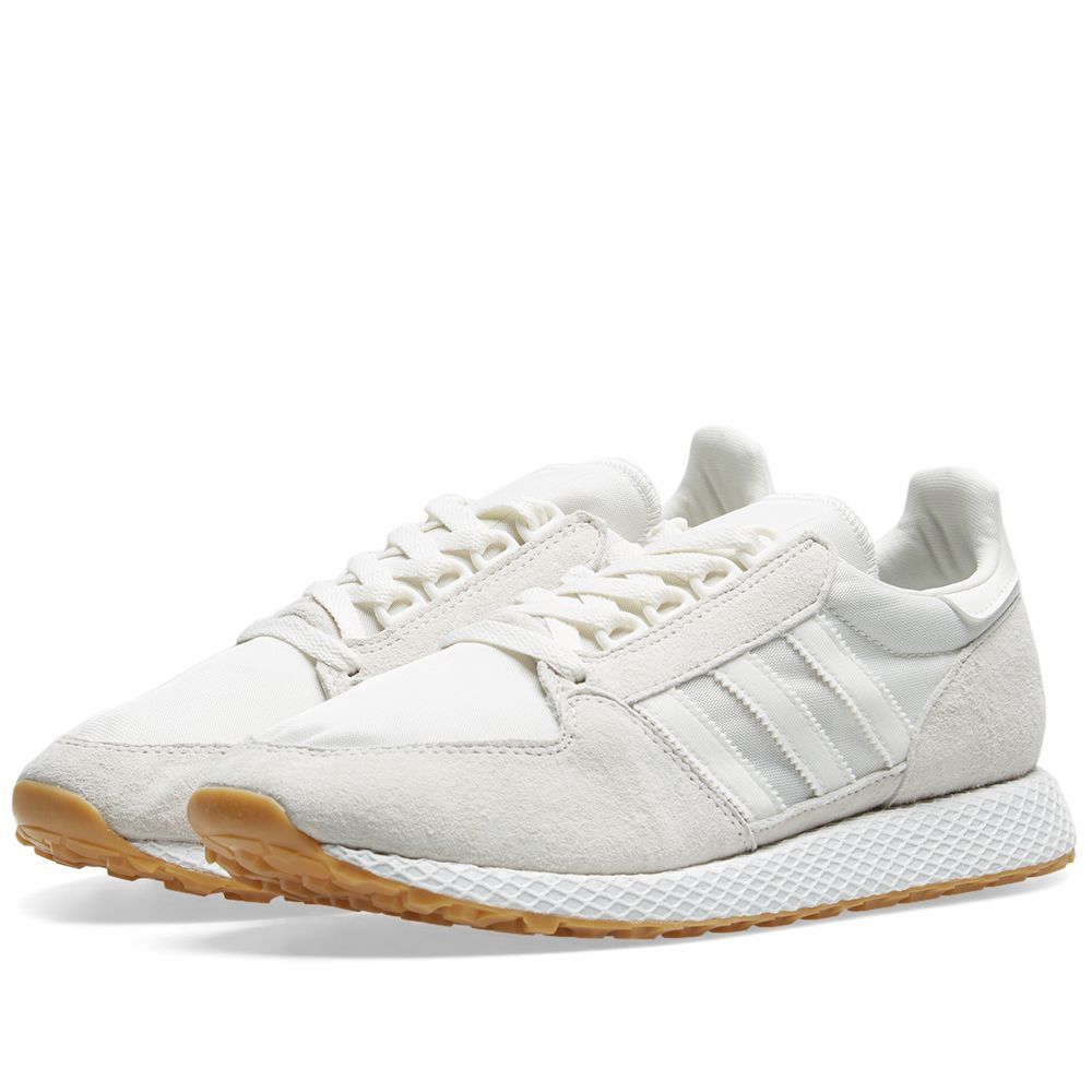 cheap for discount 1f3bf 6036c Adidas Forest Grove Cloud White  White  END.