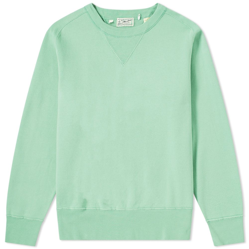 62b5993ad597 Levi s Vintage Clothing Bay Meadows Crew Sweat Mint Green