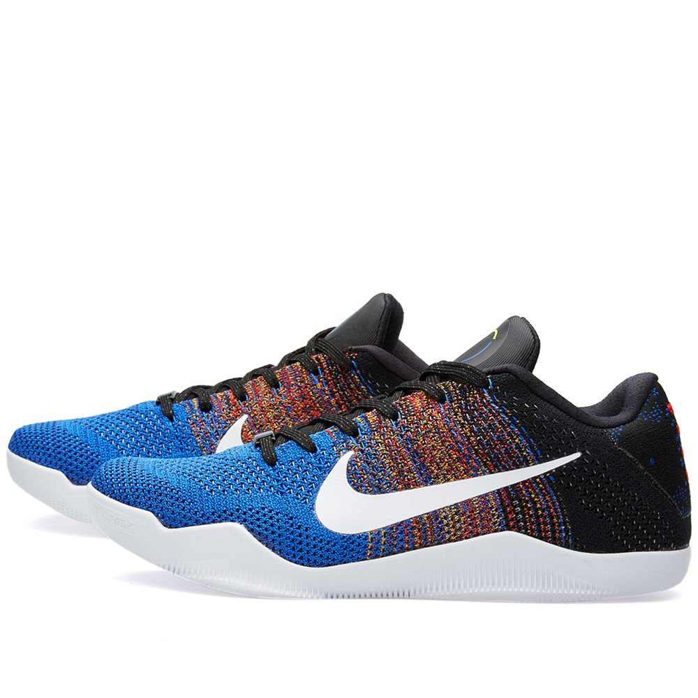 b2713e1d88c0 Nike Kobe Xi Elite Low BHM Multicolour   White