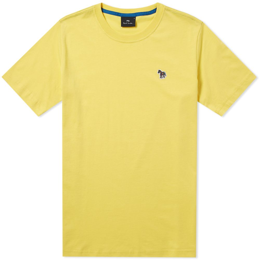 Paul Smith Zebra Logo Tee. Yellow.  55  35. image 6fe14f0c65e4