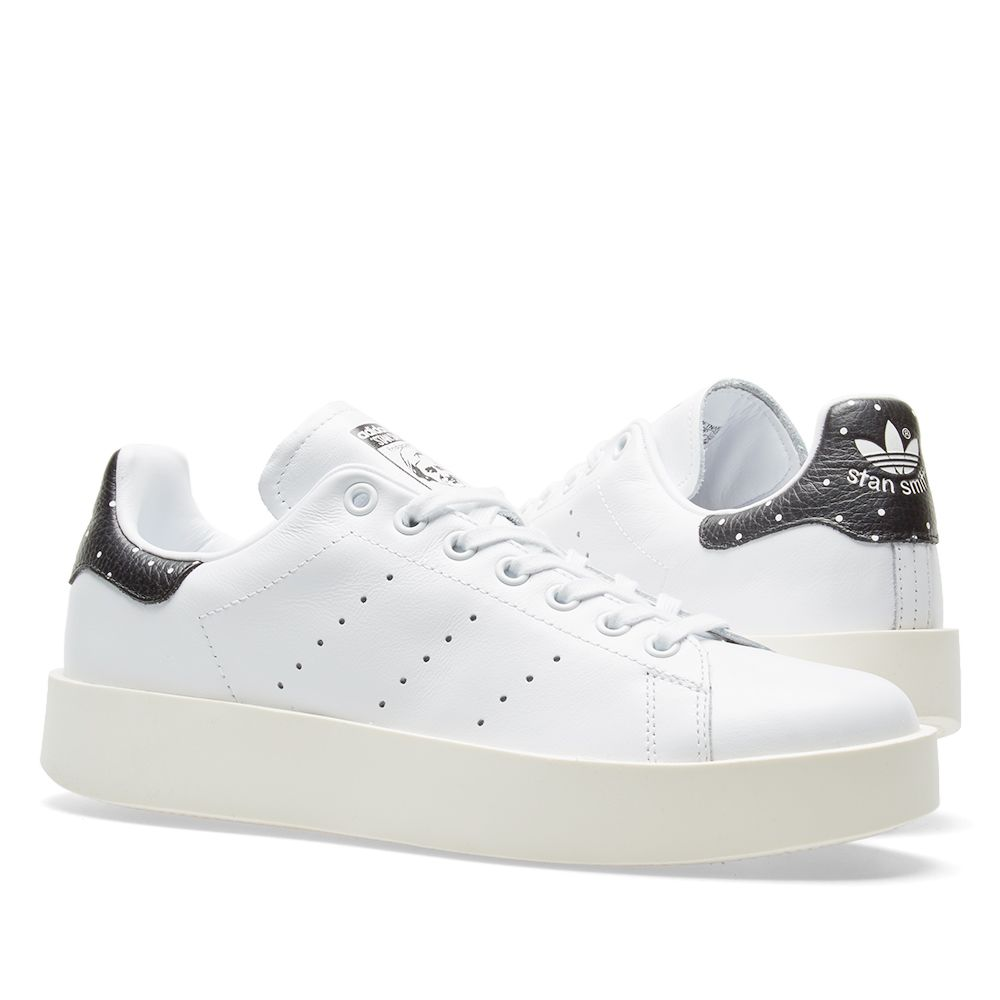 f05f8934400 Adidas Women s Stan Smith Bold W White   Core Black