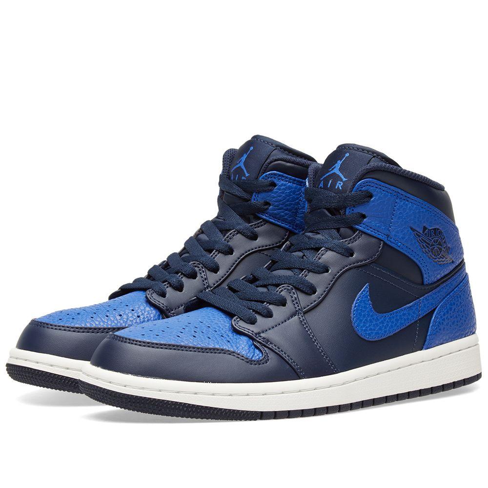 c76ea91fbb37 Nike Air Jordan 1 Mid Obsidian
