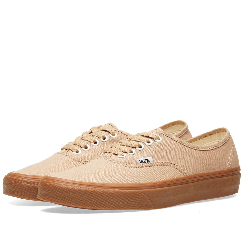 eebbedd627f5 Vans Authentic Sesame   Gum