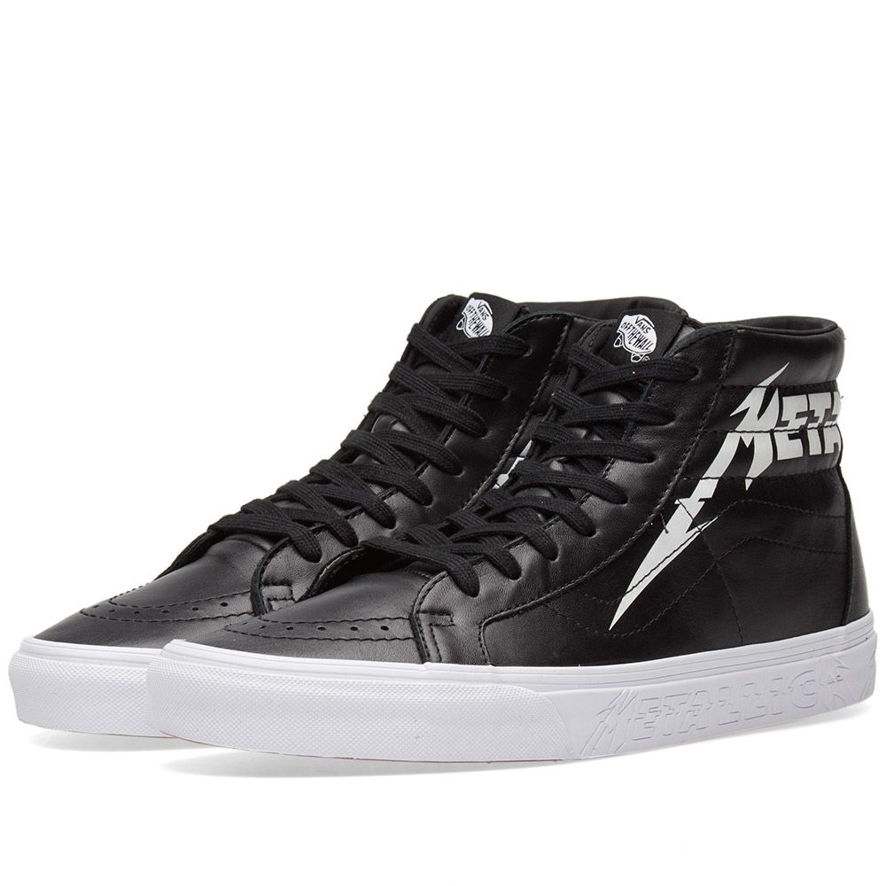 c27d39aeb0 Vans x Metallica Sk8-Hi Reissue Black   True White
