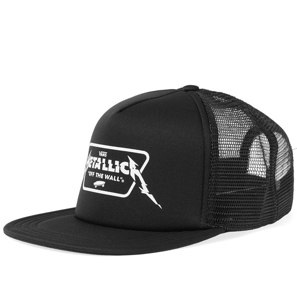 Vans x Metallica Trucker Cap Black  b39e926a547c