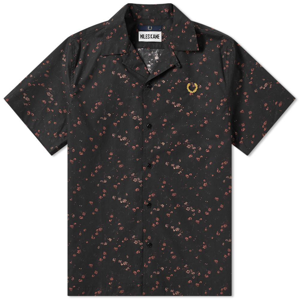 Fred Perry X Miles Kane Liberty Bowling Shirt by Fred Perry