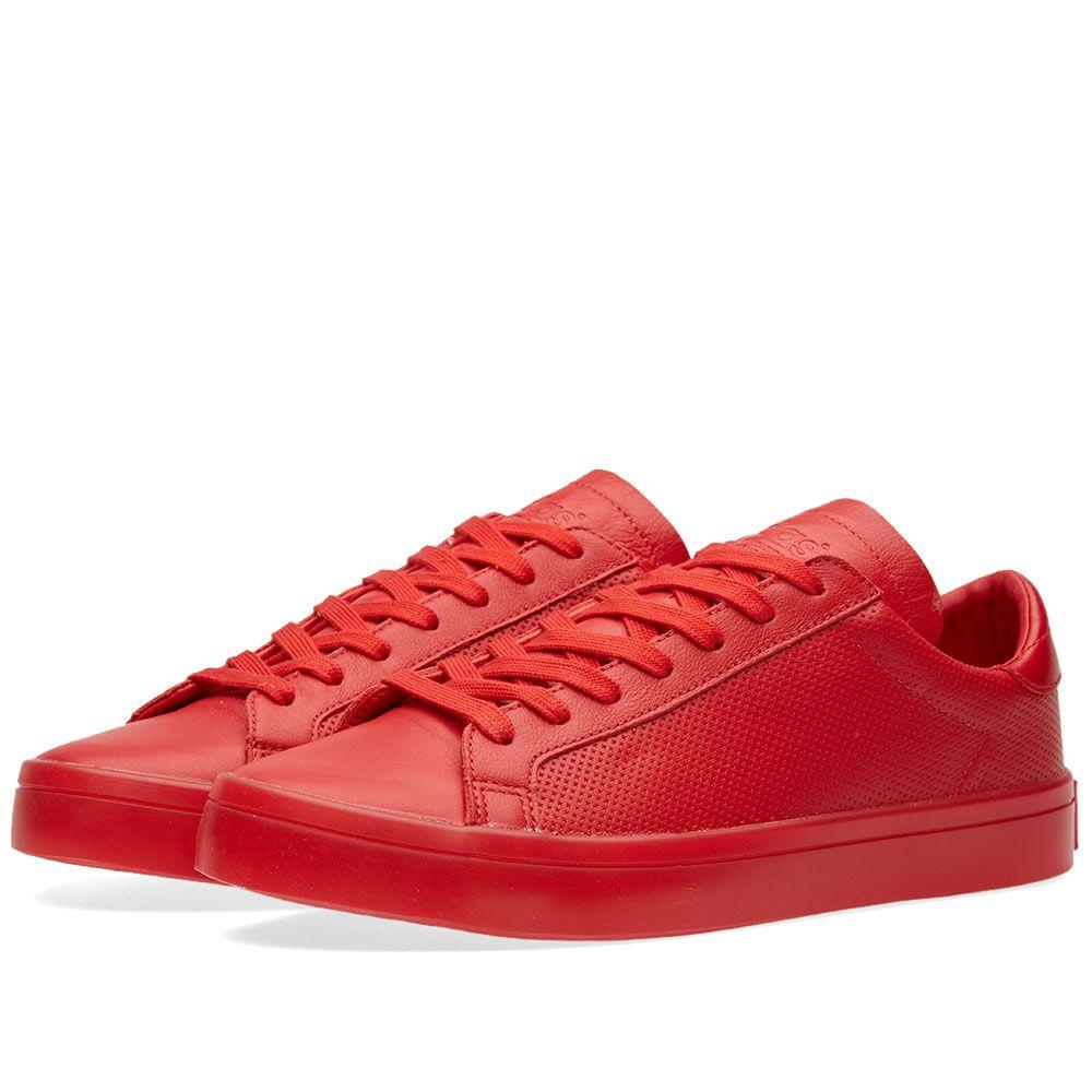 new arrival 4da9d e8d00 Adidas Court Vantage Adicolor. Scarlet. £62. image