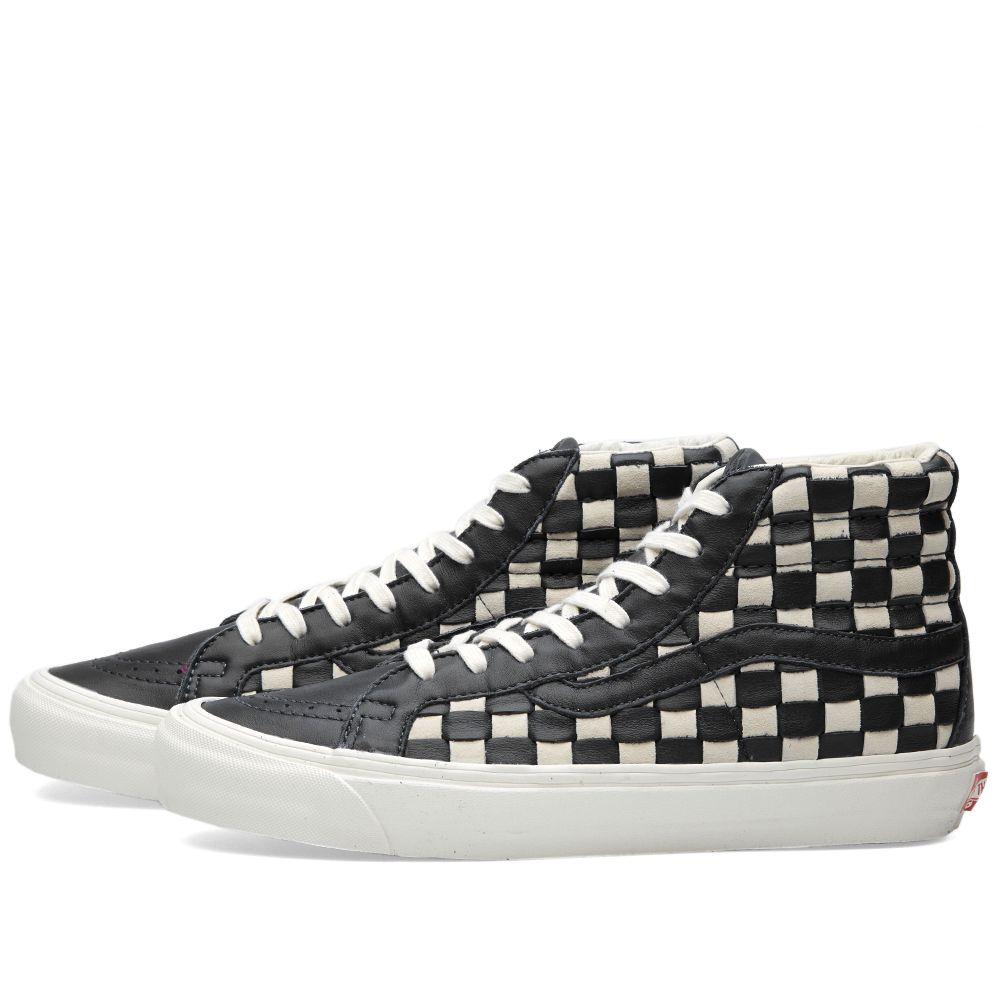 04fc428fde Vans Vault OG SK8-Hi LX 50th Checkerboard   Black