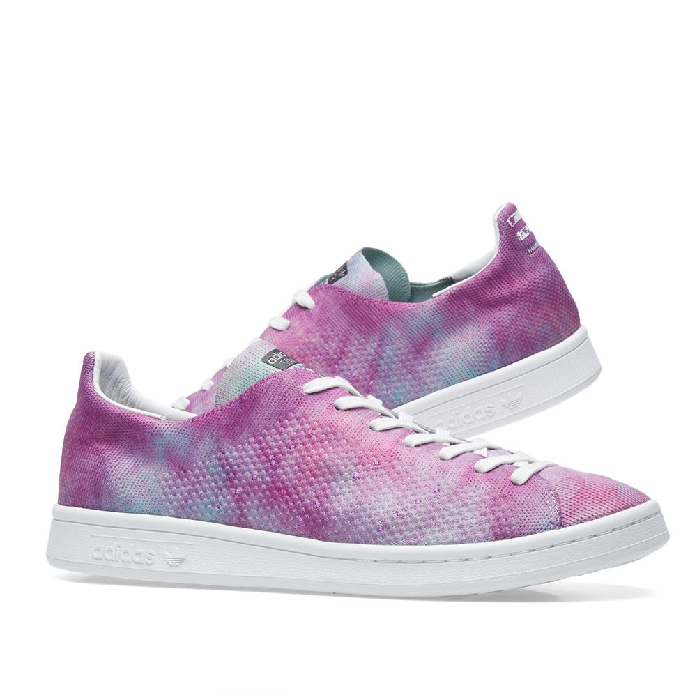 cbc1343dac1 Adidas x Pharrell Williams HU Stan Smith  Holi Powder Dye  Chalk ...