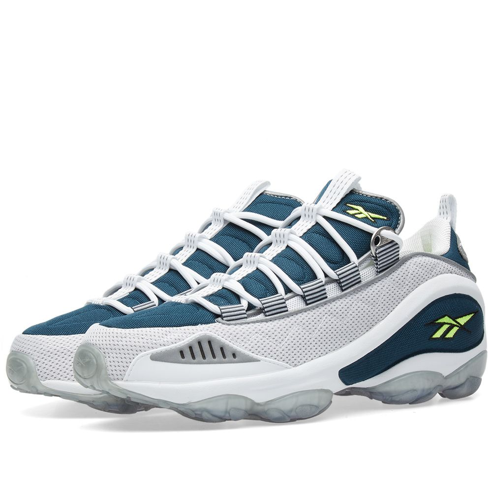 Reebok DMX Run 10 White   Nocturnal Blue  8fd3d312b