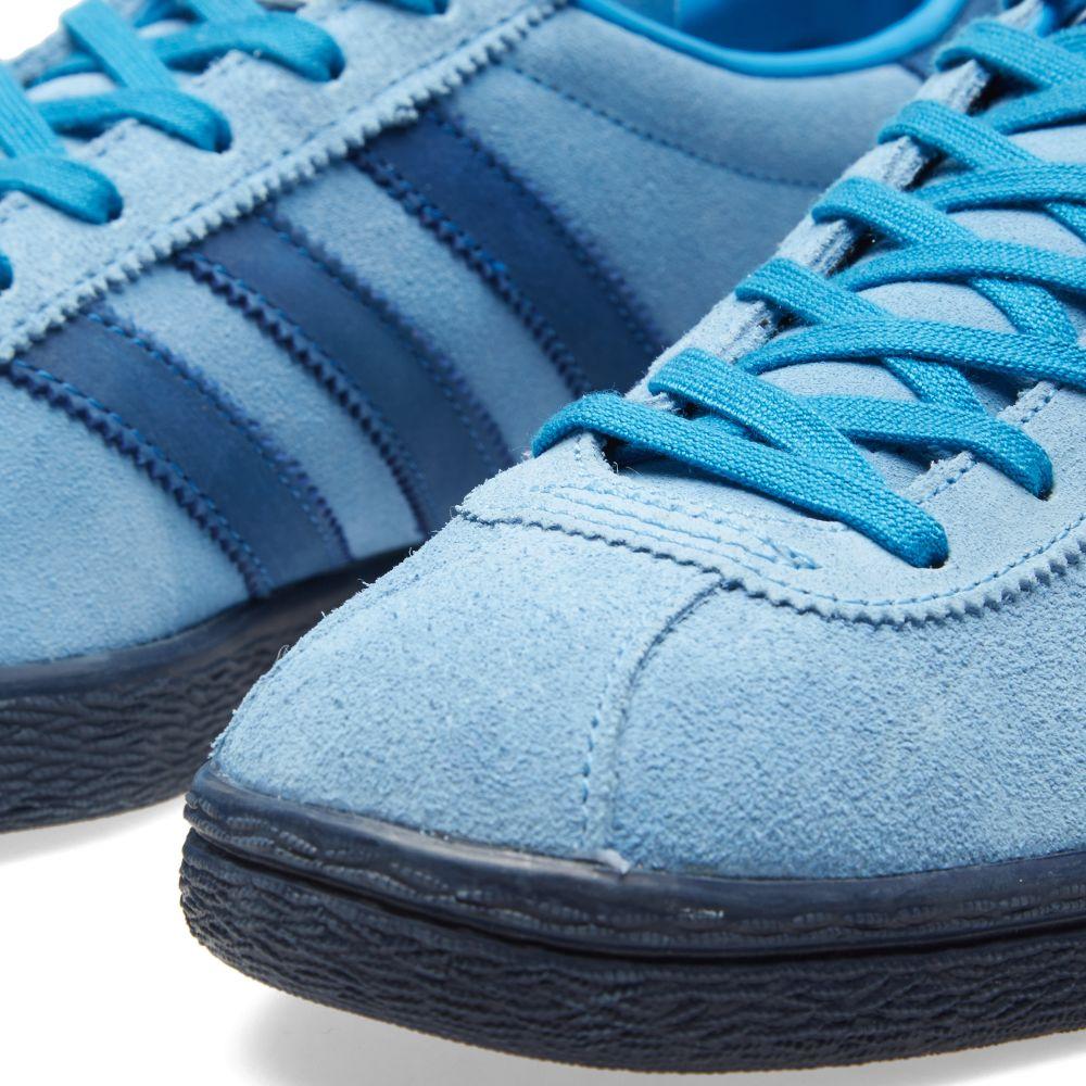 purchase cheap f7159 e30a0 Adidas Tahiti Blue  END.