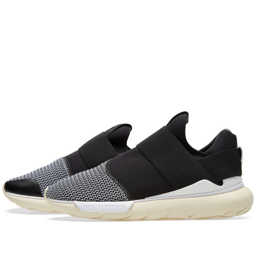 Y-3 Qasa Low II Primeknit Black bb11de704