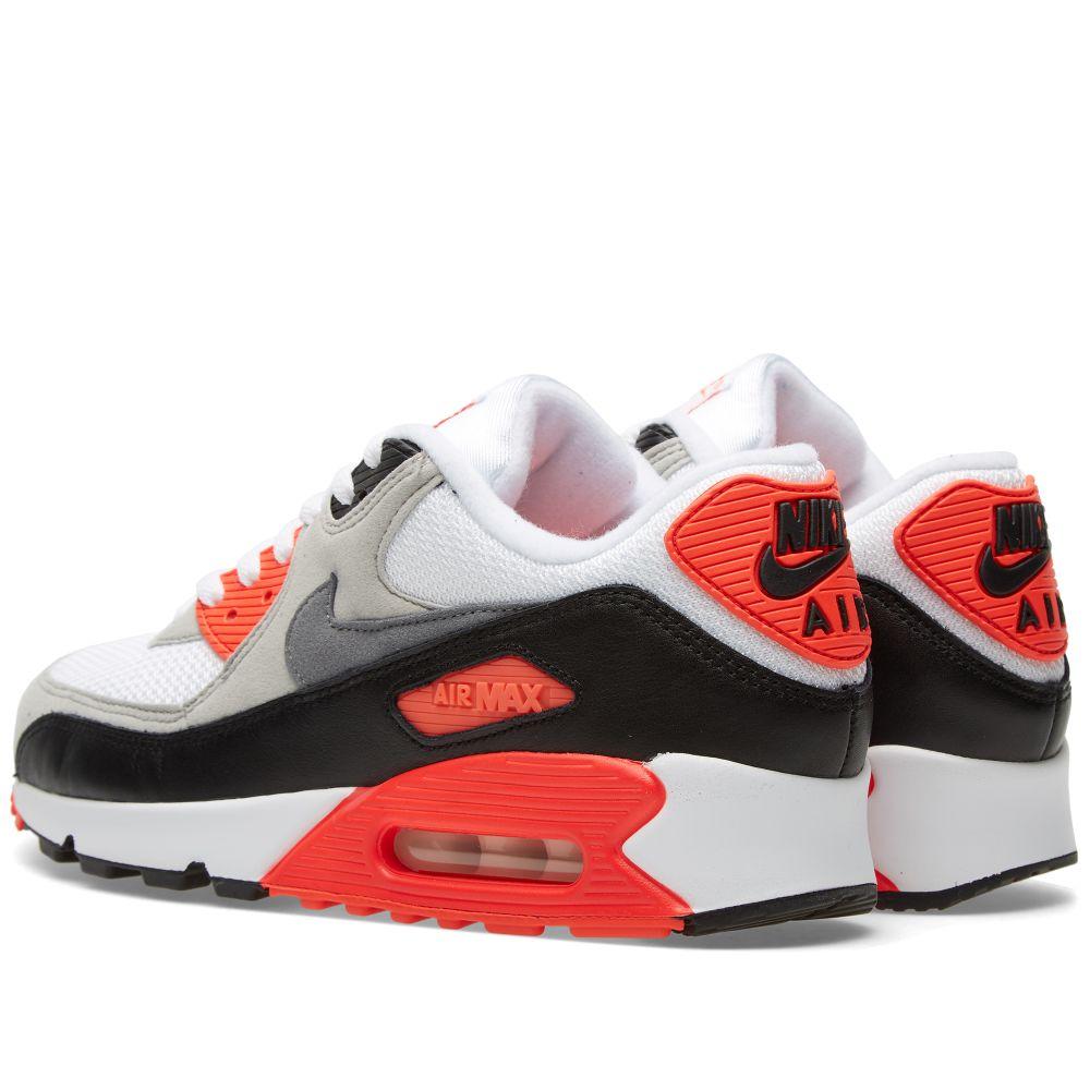 d3071d2328877 Nike Air Max 90 OG  Infrared  White