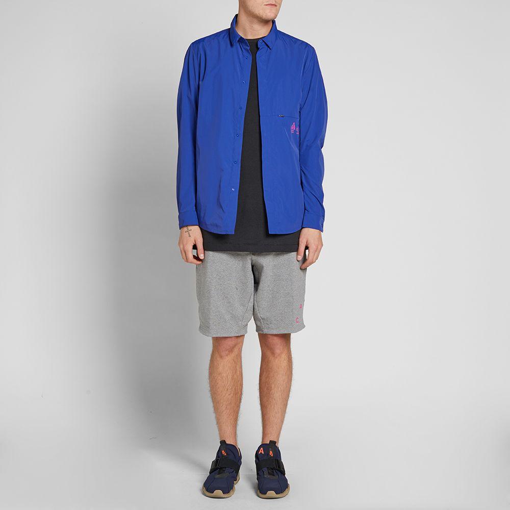 a57d20f44b77 NikeLab ACG Shirt Jacket Deep Royal Blue