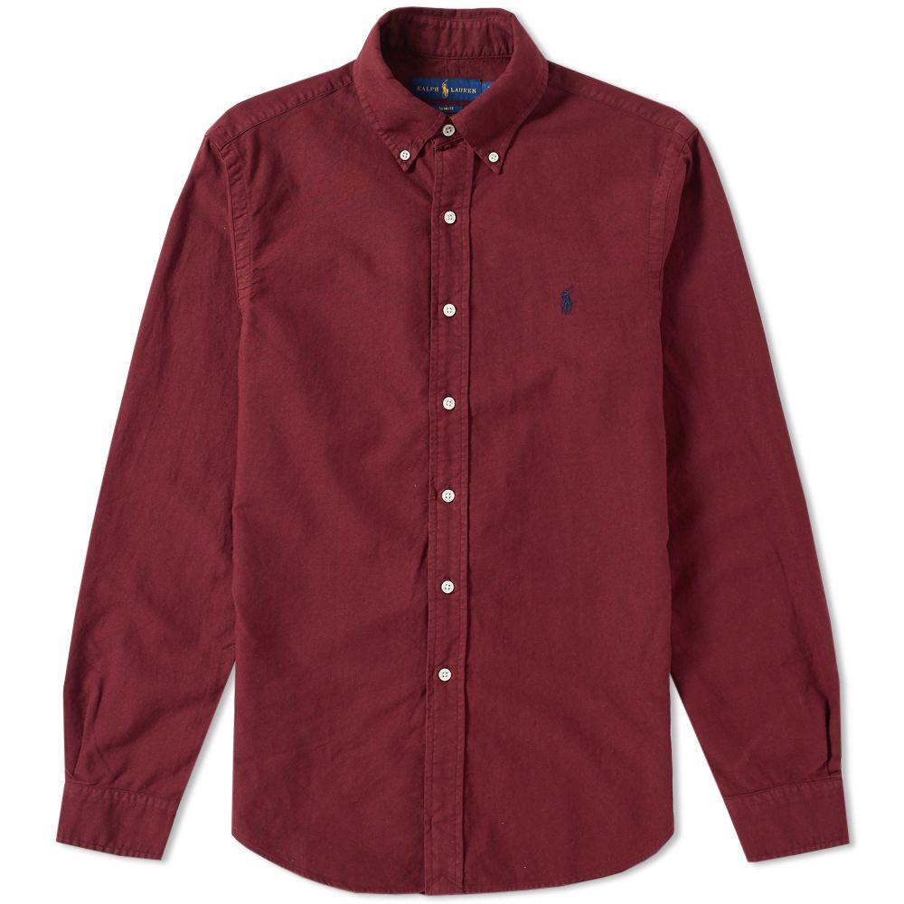 0c9c32c6def homePolo Ralph Lauren Slim Fit Garment Dyed Oxford Shirt. image. image.  image. image. image. image. image. image