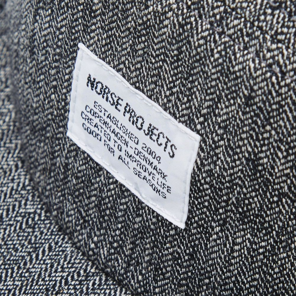 2a1dbc6362e Norse Projects Melange 5 Panel Cap. Charcoal. CN¥339. image
