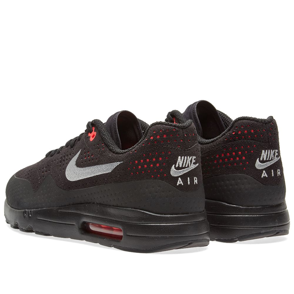 on sale db89a 9ff2e Nike Air Max 1 Ultra 2.0 Moire. Black, Wolf Grey   Solar Red. DKK925  DKK575. Plus Free Shipping. image. image. image